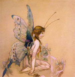 Dressing the Fairy and Other Illustrations
