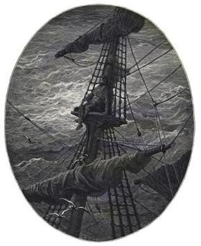 Rime of the Ancient Mariner, Gustave Dore illustration