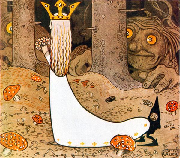 Princess Daga Watched By Trolls