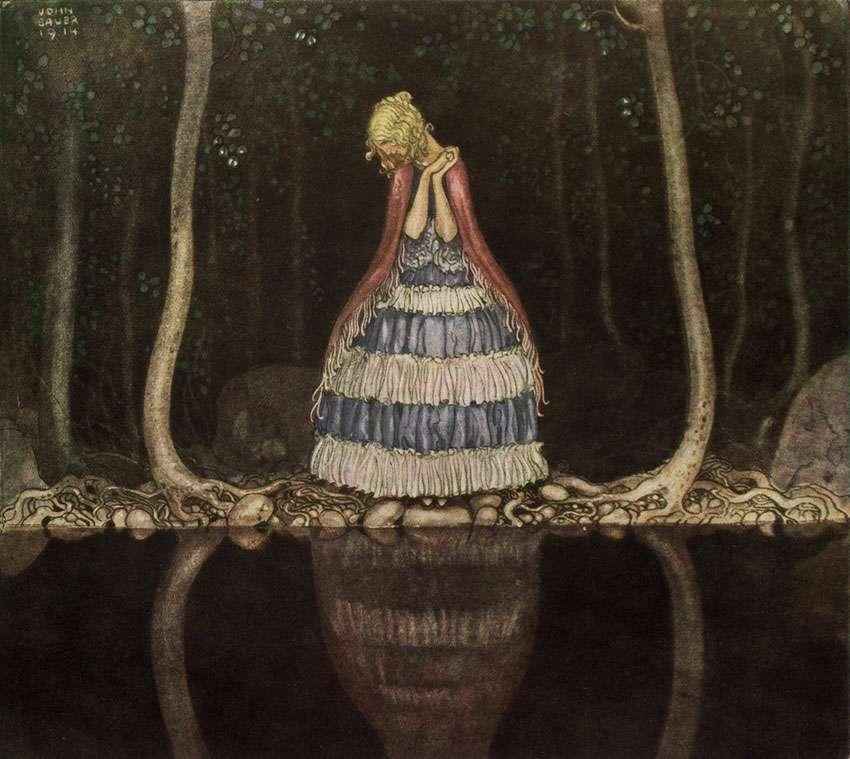 Inge by the dark lake