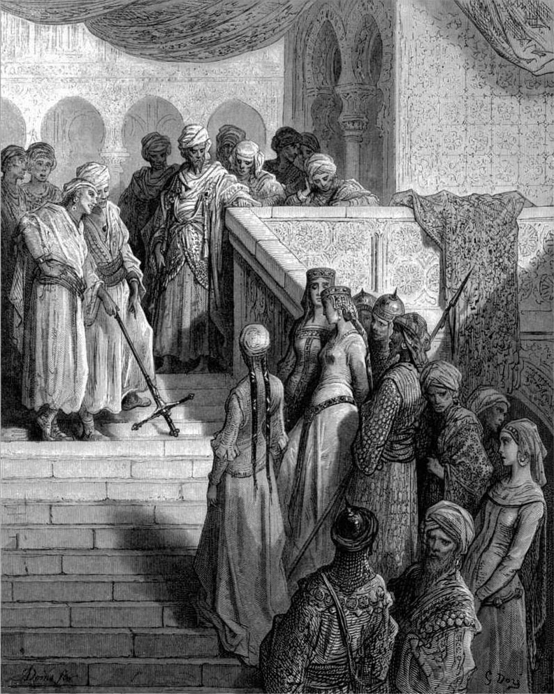 Captives, The Crusades, Gustave Dore