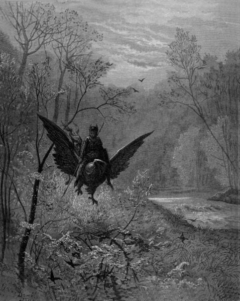 Hippogriff, Gustave Dore