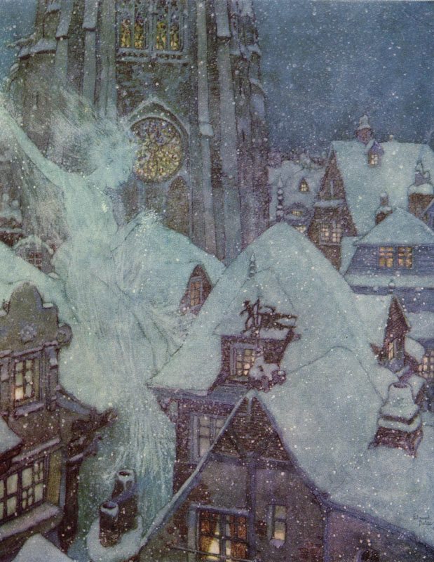 The Snow Queen on a Winter's Night