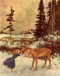 Gerda and the Reindeer