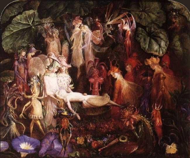 John Anster Fitzgerald - Fairy Funeral