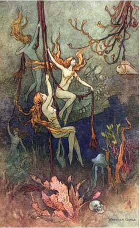 Warwick Goble - Mermaids and Fairies
