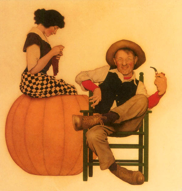 Maxfield Parrish: Peter Pumpkin Eater