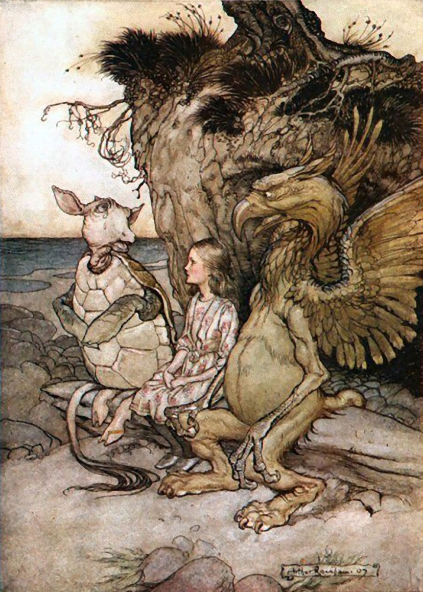 Arthur Rackham, Alice in Wonderland