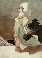 The Happy Prince: The Loveliest of the Queen's Maids of Honor, Charles Robinson