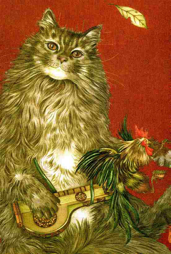 The Cat, the Fox, and the Rooster by Adrienne Segur