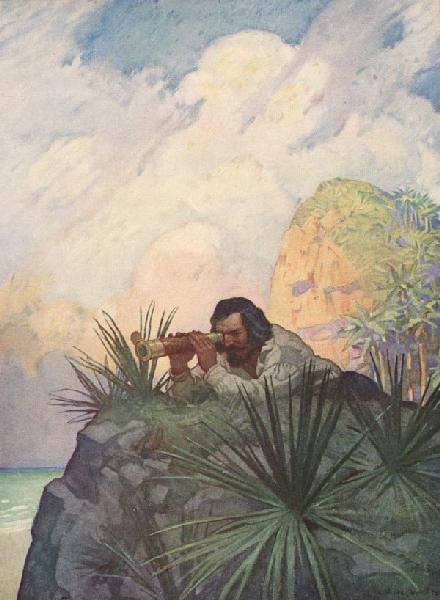 Warwick Goble, Robinson Crusoe, N.C. Wyeth
