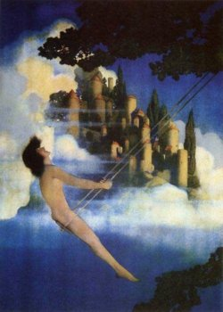 Maxfield Parrish: The Dinky-Bird