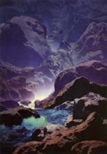 Maxfield Parrish: Moonlight