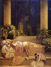 Maxfield Parrish: Sleeping Beauty