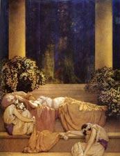 Maxfield Parrish: Sleeping Beauty
